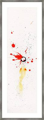The Inexplicable Ignition Of Time Expanding Into Free Space Phase Two Number 17 Framed Print