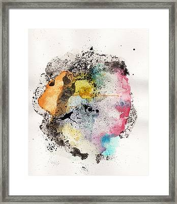 The Inexplicable Ignition Of Time Expanding Into Free Space Phase Two Number 18 Framed Print