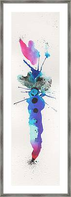 The Inexplicable Ignition Of Time Expanding Into Free Space Phase Two Number 20 Framed Print by Mark M  Mellon