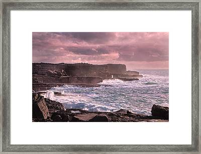 The Inishmore Spell Framed Print by Betsy Knapp