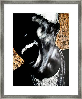 The Initiate Framed Print by Chester Elmore