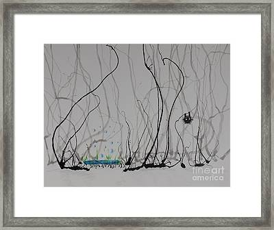 The Ink People Chronicles #5 Framed Print by Linda Alford