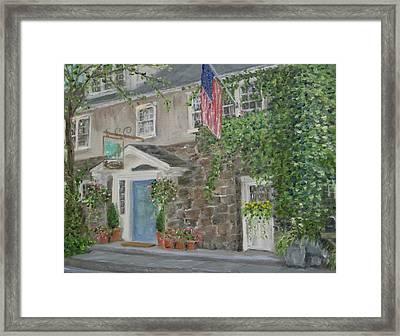 The Inn At Phillips Mill Framed Print