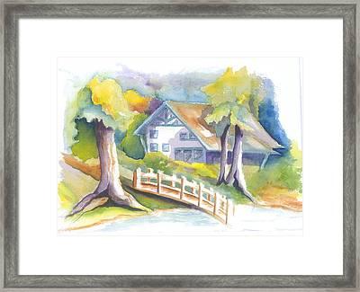 The Inn Framed Print by KC Winters
