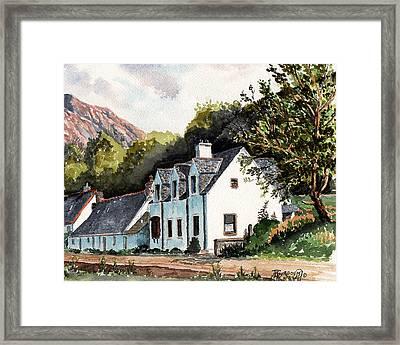 The Inn Scotland Framed Print