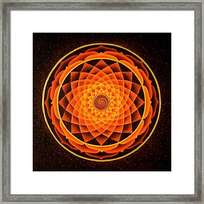 The Inner Fire Framed Print