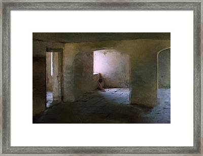 The Inner Place Framed Print by Ron Jones