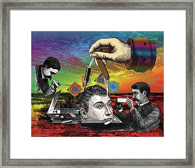 The Inquisition Framed Print by Eric Edelman