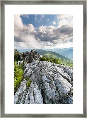 The Interface Of The Ancient And The Present Framed Print