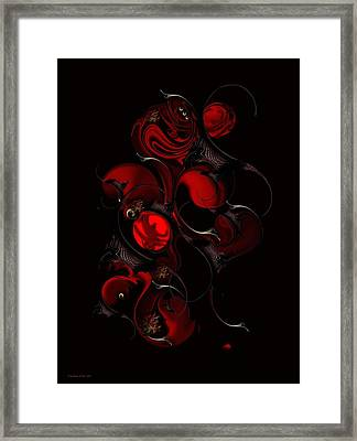The Interfering Sentiment Framed Print