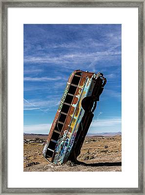 The International Car Forest Of The Last Church 2 Framed Print