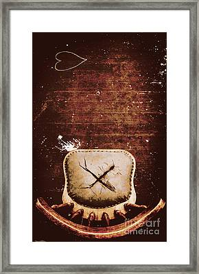 The Interrogation Room Framed Print
