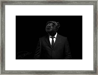 The Interview Framed Print by Paul Neville