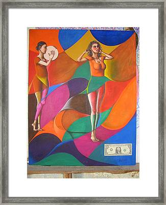The Intimate Dancer Framed Print