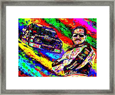 The Intimidator Framed Print by Mike OBrien