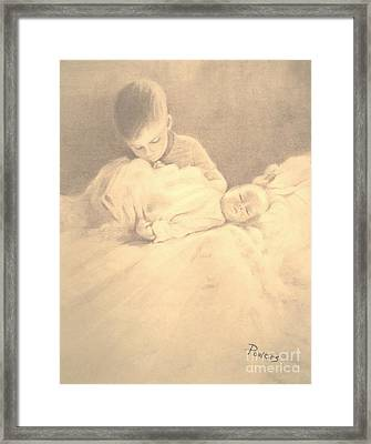 The Introduction Framed Print