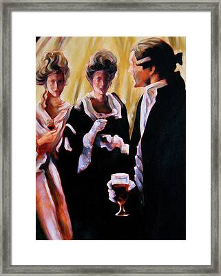 The Introduction Framed Print by Stuart Gilbert