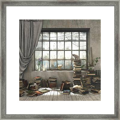 The Introvert Framed Print
