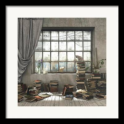 Writing Room Framed Prints