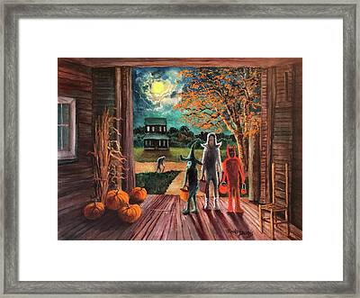 The Intruder Framed Print