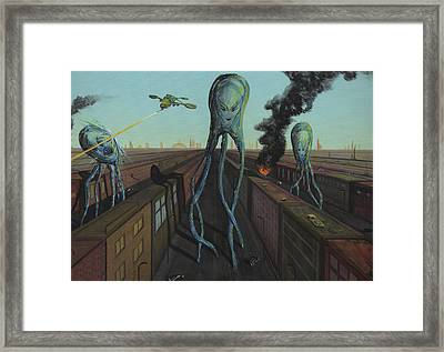 The Intruders Framed Print