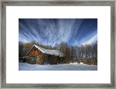 The Inventor Framed Print by Wayne Stadler