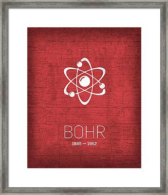 The Inventors Series 008 Bohr Framed Print by Design Turnpike