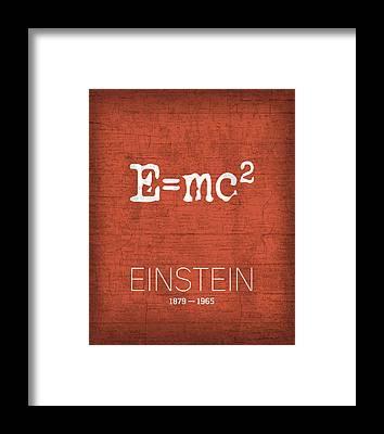 Emc2 Framed Prints