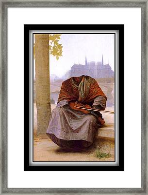 The Invisible Bohemian Framed Print
