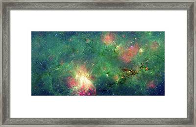 Framed Print featuring the photograph The Invisible Dragon by NASA JPL-Caltech