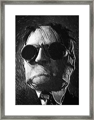 The Invisible Man Framed Print by Taylan Apukovska