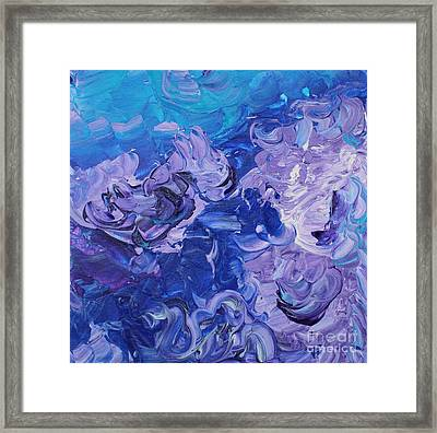 The Invisible Woman Framed Print