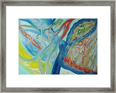 The Invisible World Framed Print