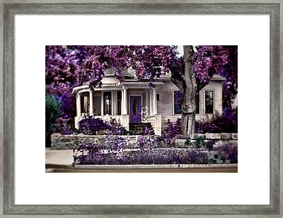 The Invitation Framed Print by Marcie  Adams