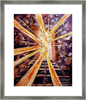 The Invitation To The Wedding Feast Reworked Second Commission Framed Print by Charlie Spear