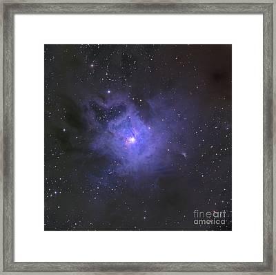 The Iris Nebula Framed Print
