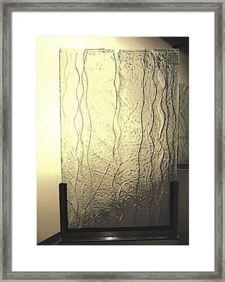 'the Iris River' Framed Print by Sarah king