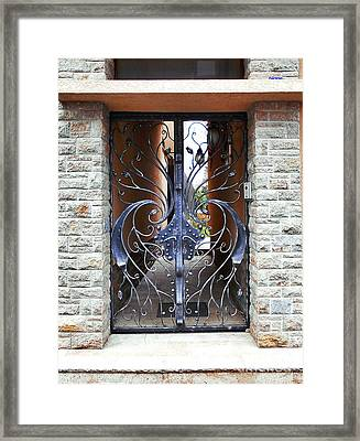 The Iron Gate Framed Print
