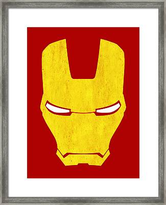 The Iron Man Framed Print by Mark Rogan