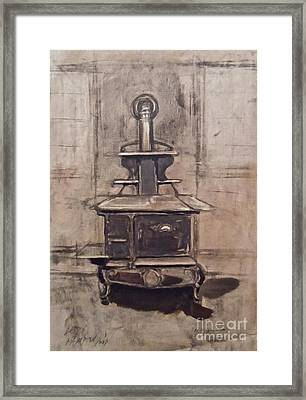 The Iron Stove Framed Print