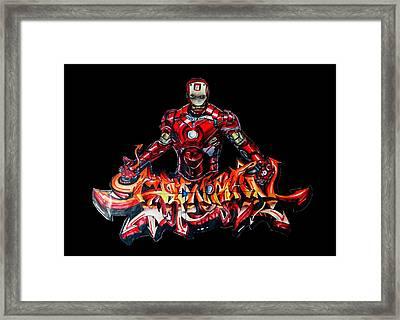 The Ironman  Framed Print by Chiranjib Bhorali