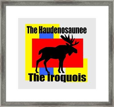 The Iroquois Framed Print by Otis Porritt