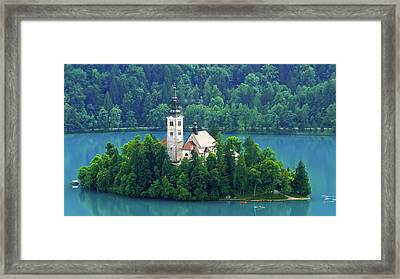 The Island Framed Print