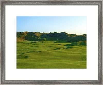 The Island Golf Club - Hole #5 Framed Print by Scott Carda