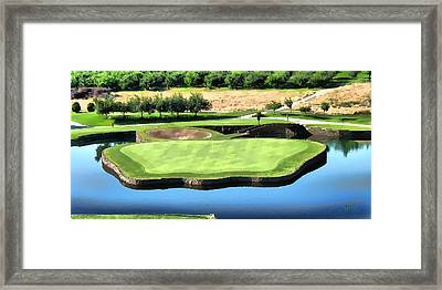 Framed Print featuring the photograph The Island by Kathy Tarochione