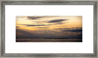 The Island Framed Print by Konstantin Dikovsky