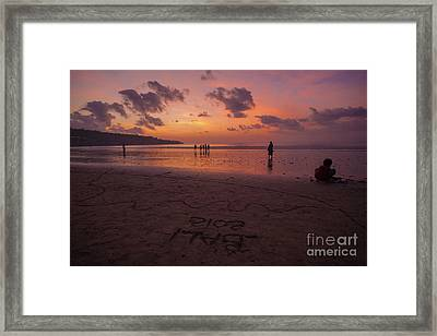 The Island Of God #15 Framed Print