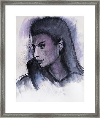 The Islander Framed Print
