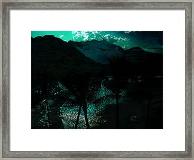 The Islands Framed Print by Paul Sutcliffe
