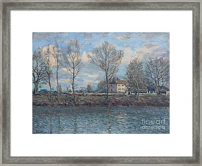 The Isle Of Grande Jatte Framed Print by Celestial Images